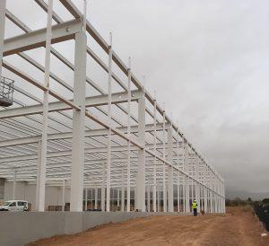 estructura metalica nave industrial